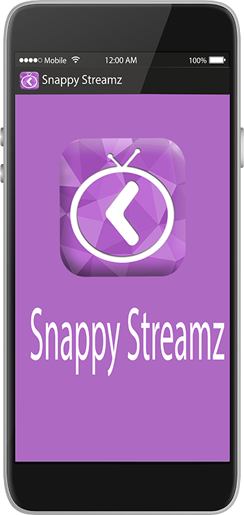 Snappy Streamz Mobile Screenshot
