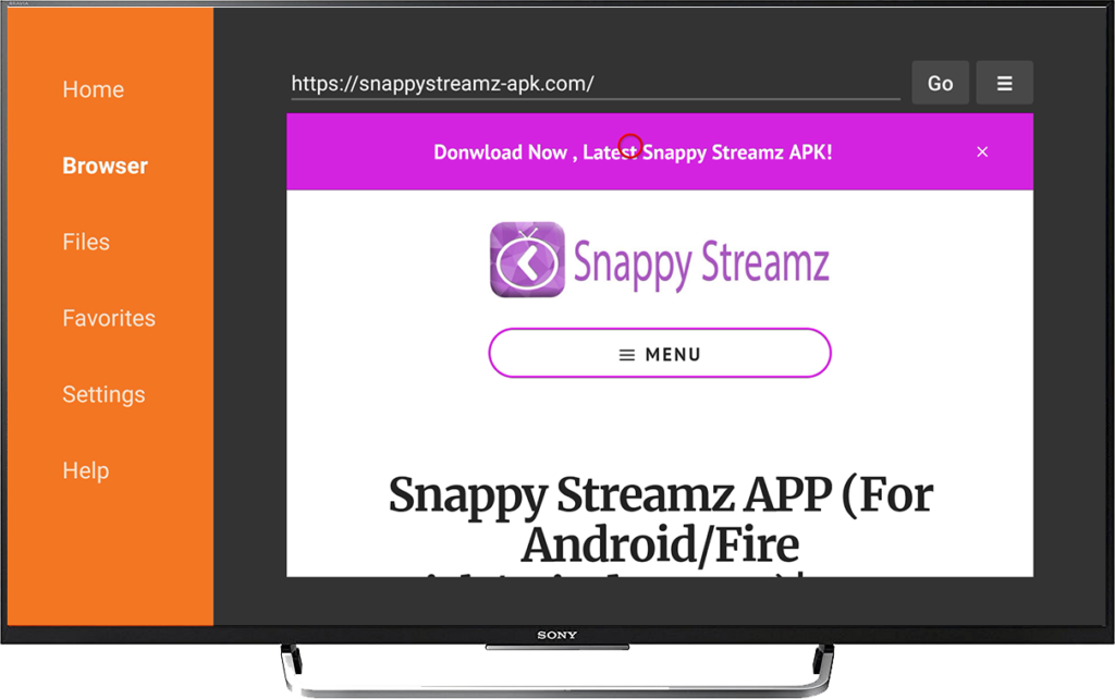 Snappy Streamz Installtion on Firestick Screen Shot-13