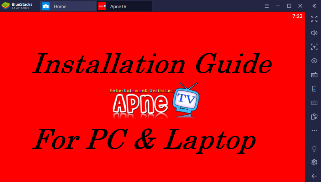 Apne TV on PC